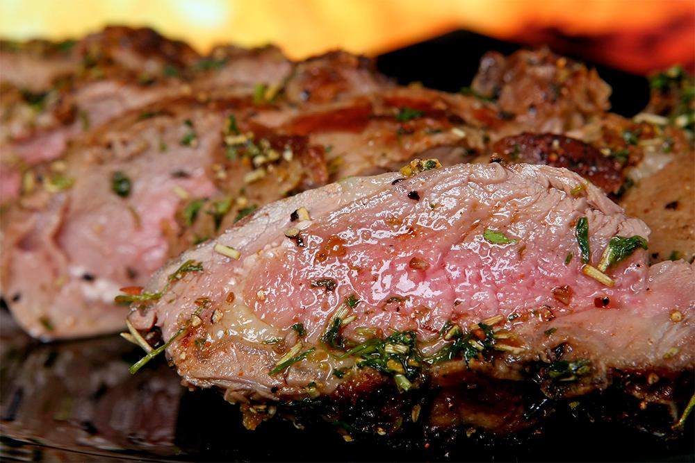 carne de cerdo para asar